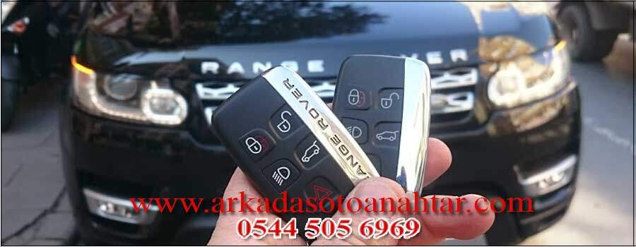 Range Rover Sport anahtarı