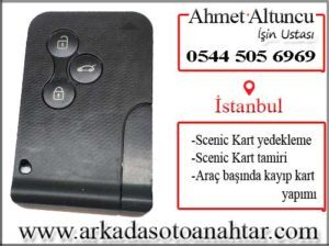renault scenic card key