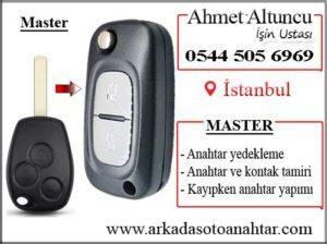 master key and key fob