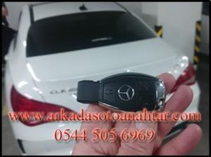 Mercedes CLA180 Anahtar yapımı