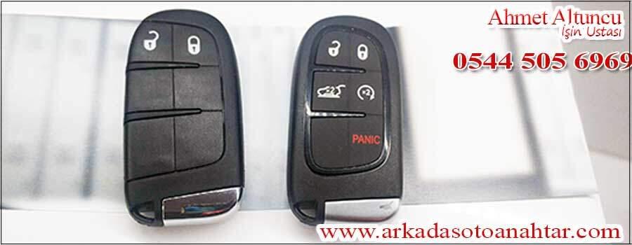 Fiat freemont ignition key anahtarı