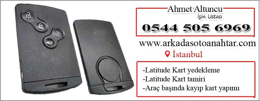 Latitude card key