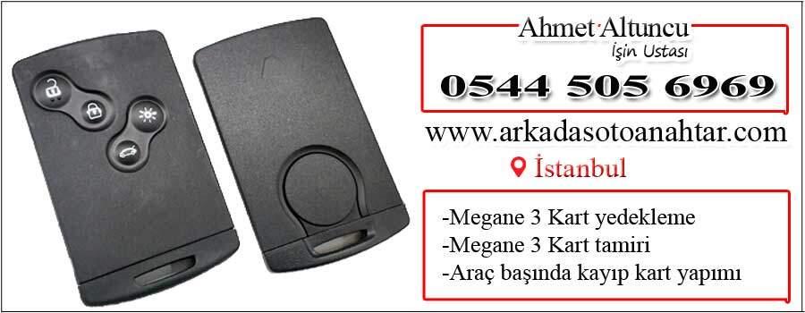 megane 3 card key