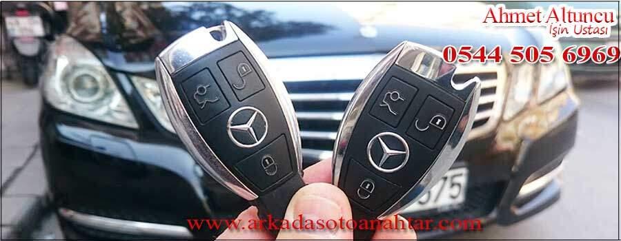 Mercedes E250 Anahtarı