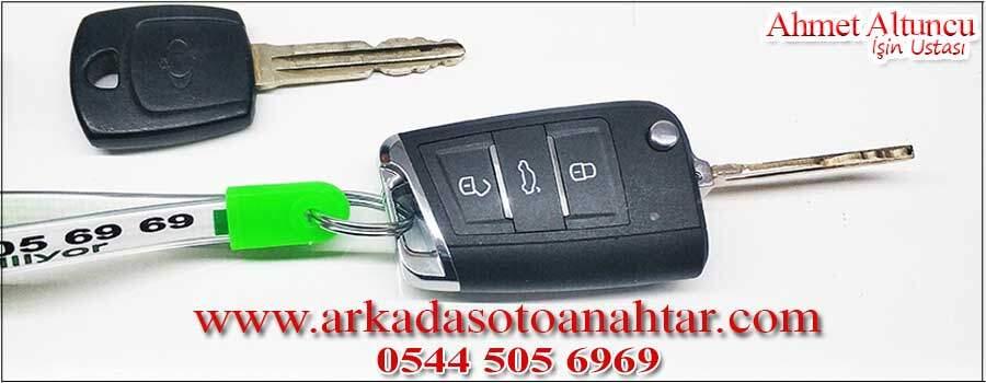 Ssangyong Korando Anahtarı