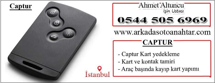 Captur car key
