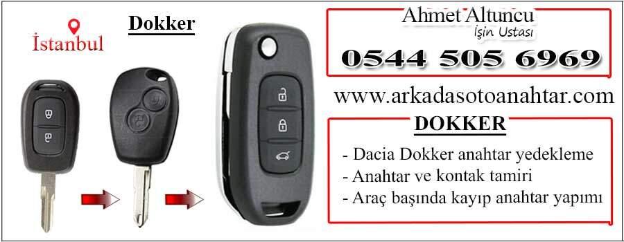 Renault Dokker Anahtarı Key