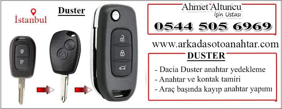 Dacia Duster Anahtarı key