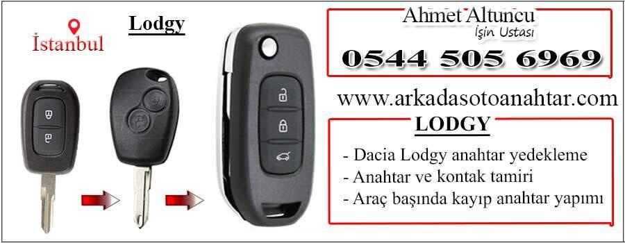 Dacia lodgy key anahtar