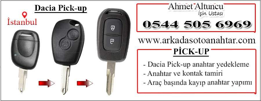 dacia pick up anahtarı key