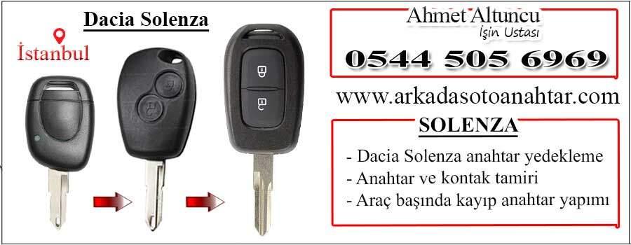 Dacia Solenza Anahtarı Key