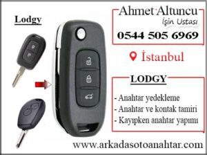 Lodgy key anahtar